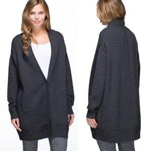 Lululemon Cardi All Day Cardigan Sweater Grey M